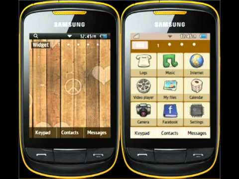 temas celular samsung corby 2