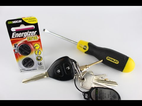 Toyota Yaris Key Fob battery Replacement