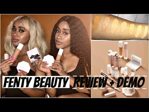 Fenty Beauty Review + GIVEAWAY! Shades 370 & 380   Nae and Nea