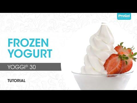 Tart Frozen Yogurt -- Yoggi 30®