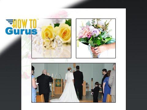 Photoshop Wedding Photo Editing How to Design Wedding Albums and Templates CS5 CS6 CC 2018 Tutorial