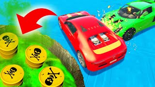 Can You SURVIVE The Explosive DERBY?! (GTA 5 Funny Moments)