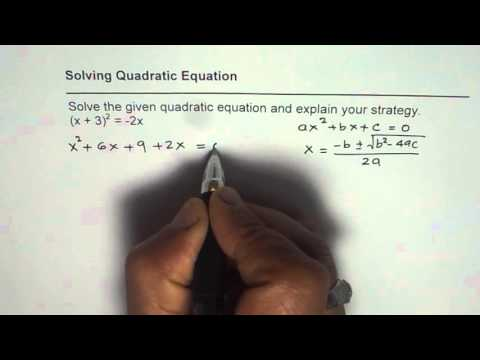 Solve Quadratic Equation Answer in Radical Form