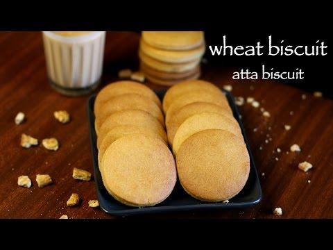biscuit recipe | atta biscuits recipe | how to make wheat biscuits recipe