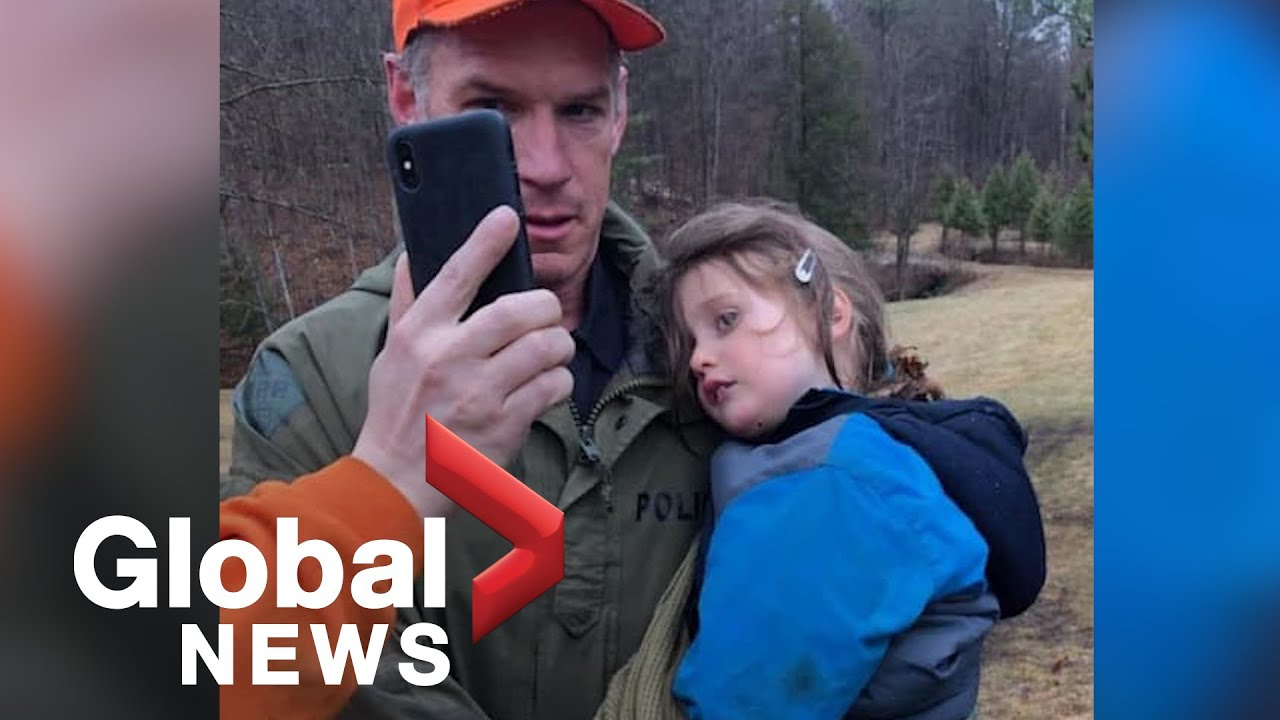 """Officer who found toddler lost in Ontario woods calls him a """"tough little guy"""""""