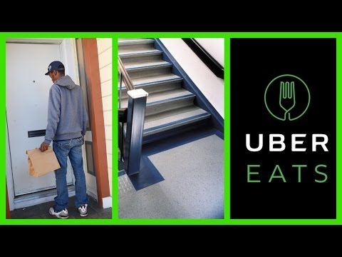 UberEats? Do You Guys Take The Food To The Door? Or Make The Customer Come Out!