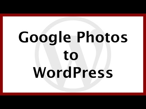How to Load Images from Google Photos to your WordPress Website