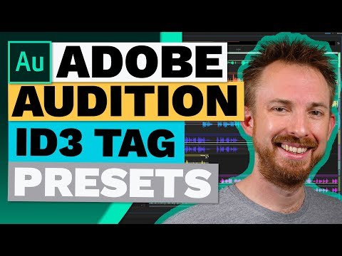 ID3 Tag Podcast Presets in the Adobe Audition Multitrack