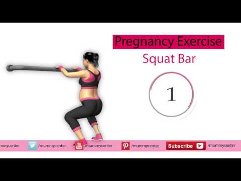 Pregnancy Exercise: Squart Bar | Pregnancy Exercise for Labor and Delivery | Mummy Center