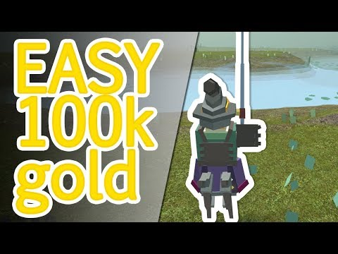 EASY 100K GOLD FROM FISHING *GET RICH QUICK* Roblox Fantastic Frontier