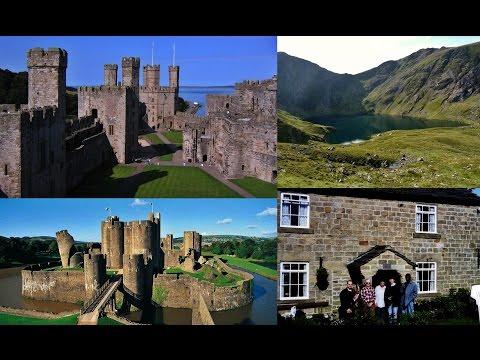 97. ΟΥΑΛΙΑ - WALES: Snowdonia, Conwy, Beaumaris,  Beaumaris, Aberystwyth, Cardiff, St Fagans