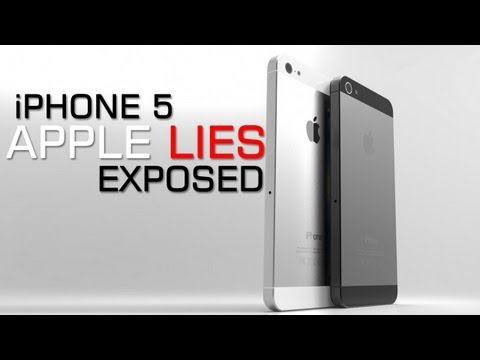 iPhone 5 - Apple Keynote Lies Exposed and More