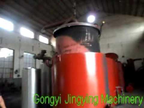 biochar retort for making charcoal