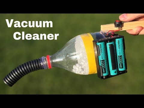 How to Make a Powerful Vacuum Cleaner using Computer Fan