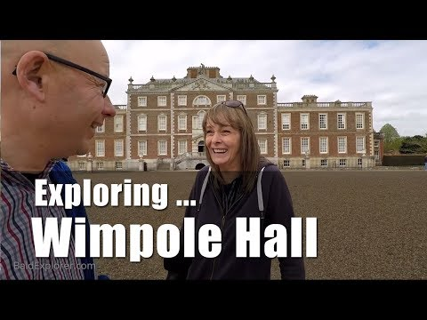 Walks in England: Exploring Wimpole Hall and Gardens, Cambridgeshire