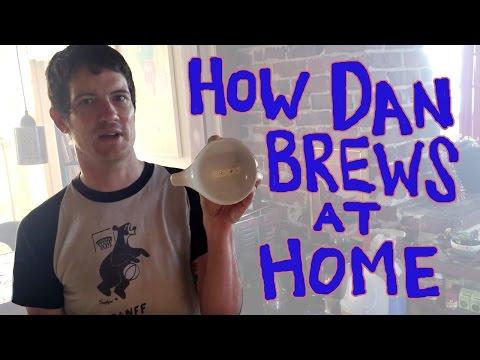 How Dan Brews Coffee at Home