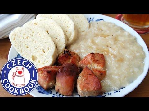 Roast Pork, Dumplings and Sauerkraut Recipe - Vepřo knedlo zelo - Czech Cookbook