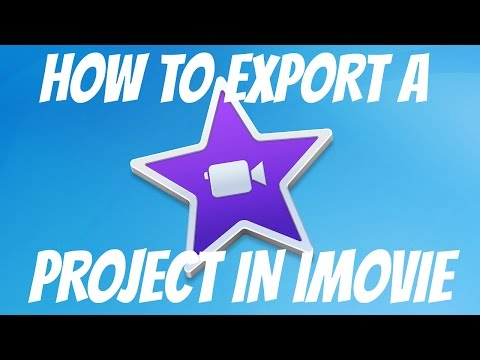 How To Save/Export A Project In IMovie   HD