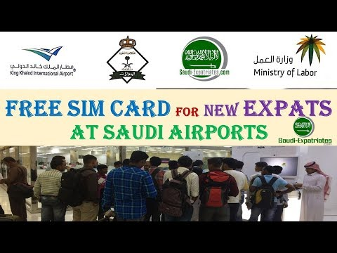 Free STC Sim for New Expat At Airport
