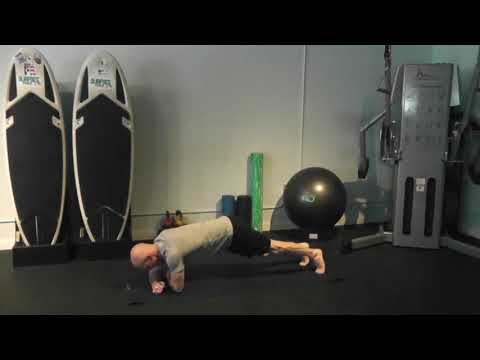 plank long lever side hold  DONE