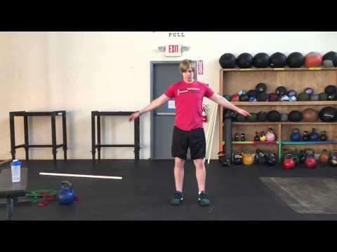 warm up shoulder series