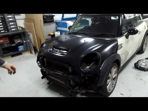 BMW Mini Cooper S R56 project - Bonnet Change