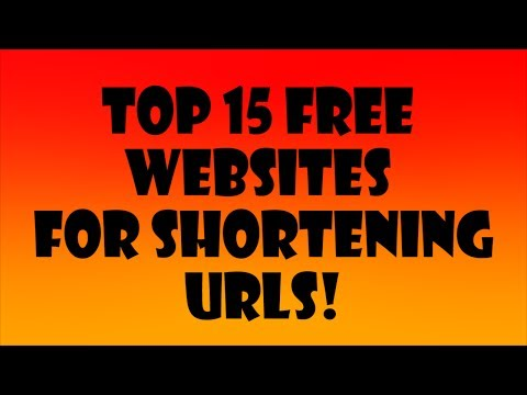 Best 15 Websites To Shorten URLs! - 2014 Edition