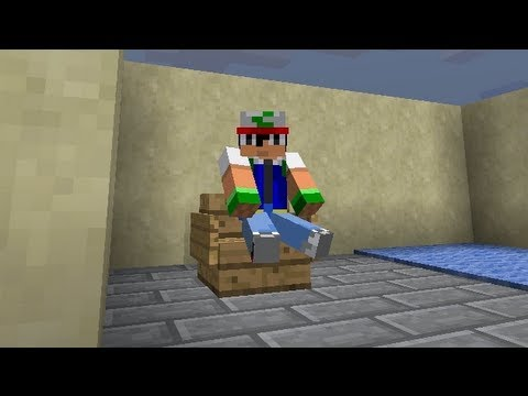 Usable Chairs, and Sitting on Air! [Minecraft 1.5.2 / 13w19a]