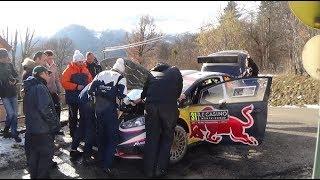 Rallye Monté Carlo 2018 Abandon Eric Camilli
