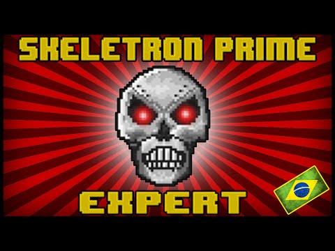 Como Matar o Skeletron Prime Facilmente (Expert)