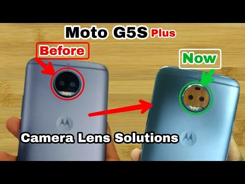 How to repair Moto G5S+ Camera, protective Layer & G5S plus camera |Solutions