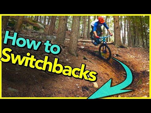 How to Ride Steep Switchbacks!!! | Mountain Bike Turning Skills