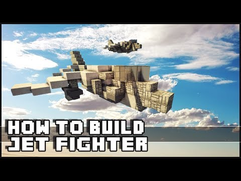► Minecraft : How to Make - Harrier Jet Fighter