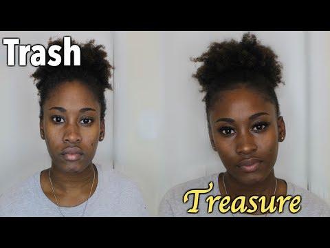 Quick GRWM | Trash to Treasure