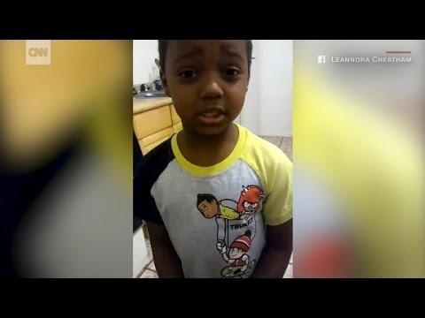 Boy's plea to end gun violence goes viral