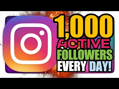 NO APP | 1000+ Active Instagram Followers Daily.😮
