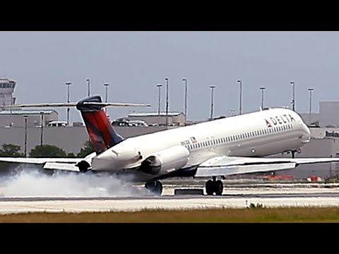 {TrueSound}™ Delta Air Lines MD-80 / MD-88 Smooth Landing at Miami