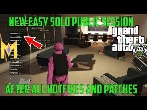 GTA 5 Online Glitches - *NEW* EASY 100% SOLO