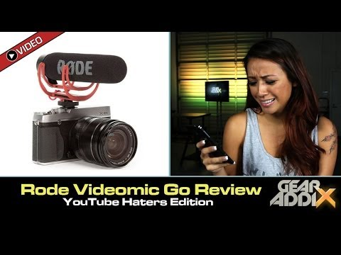 Rode Videomic Go Review: YouTube Haters Edition (Mean Tweets Parody)
