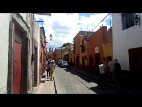 Daytime Street Scene, San Miguel de Allende
