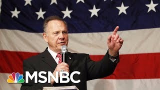 Roy Moore And Doug Jones Senate Race Coming Down To The Wire | Velshi & Ruhle | MSNBC