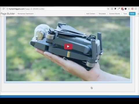How to make a resonsive video - Tesseract Theme