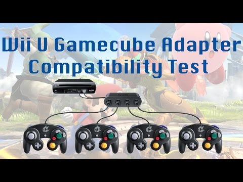 Wii U Gamecube Adapter Compatibility Test