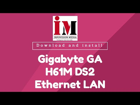 Download and install Gigabyte GA H61M DS2 Ethernet LAN Network Driver   Solved