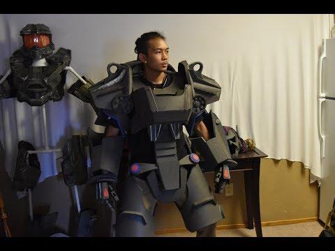 Foam Fallout 4 T60 Power Armor project PT1