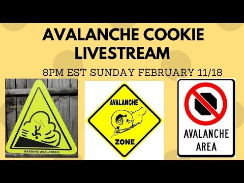 Making Avalanche Cookies (Candies) Live & Munchpak taste test!  with yoyomax12