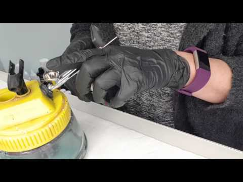 Cleaning your Airbrush gun