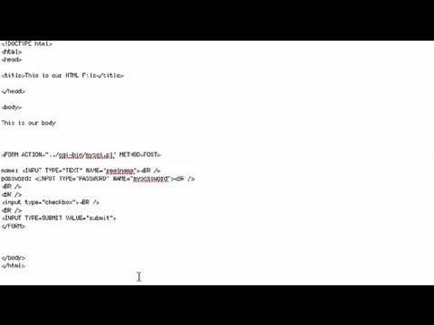 How to Make an HTML Check Box Bigger : HTML Tutorials