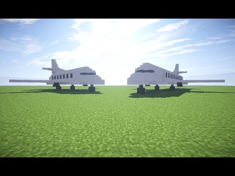 HOW TO MAKE A PRIVATE JET IN MINECRAFT