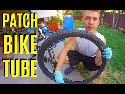 How To Patch & Change a Flat Bike Tire -Jonny DIY
